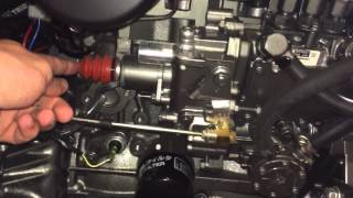 How to shut off a diesel engine if you have an electrical failure