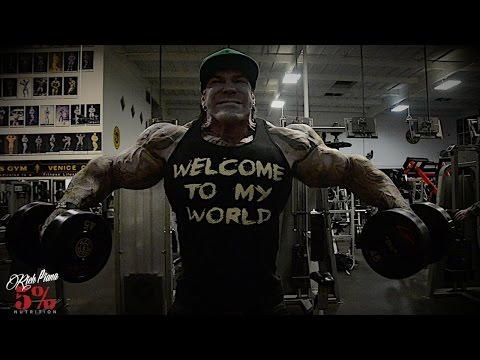 SIDE LATERAL PARTIALS - FOR SUPER WIDE SHOULDERS - Rich Piana