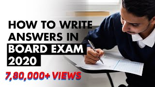 How to write Answers in Exam? | Tips to write Answers in Board Exams | Exam Tips | LetsTute
