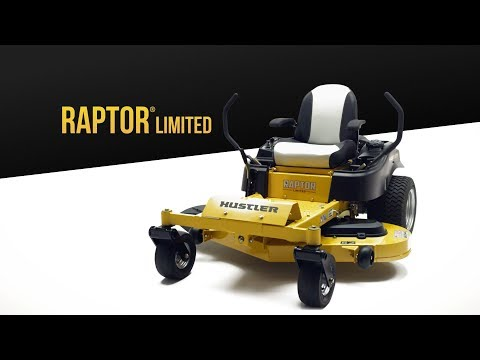 2020 Hustler Turf Equipment Raptor Limited 42 in. Kawasaki 21.5 hp in Hondo, Texas - Video 1