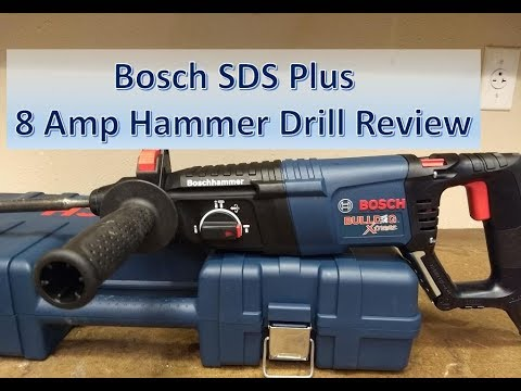 Bosch SDS+ 11255 Hammer Drill Review
