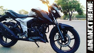 Apache RTR 160 4v video :-- 5 Good and bad things about Tvs Apache RTR 160 4v