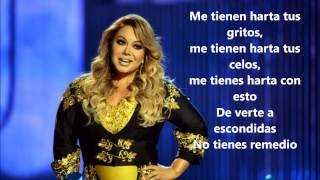 Chiquis-Esa No Soy Yo (Lyrics)