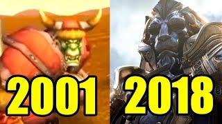 Эволюция World of Warcraft 2001-2018