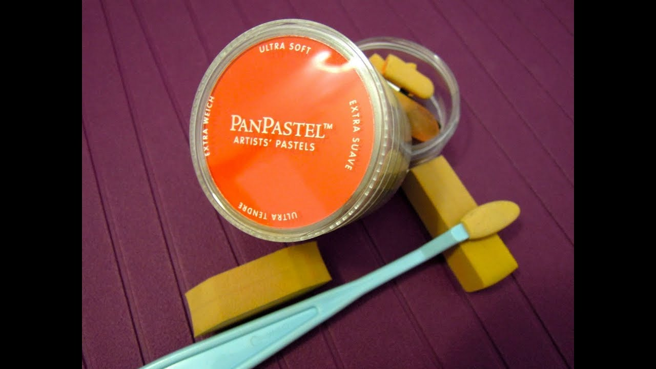 Como utilizar los Pan pastel: 5 técnicas diferentes. Tutorial Scrapbook y manualidades