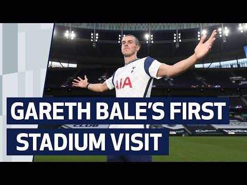 GARETH BALE'S FIRST VISIT TO TOTTENHAM HOTSPUR STADIUM!