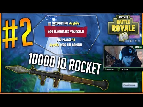 10000 IQ ROCKET – Fortnite Battle Royale WTF & Funny Moments #2