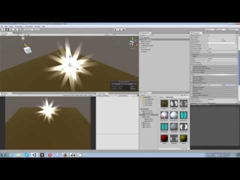 Unity 5 Tutorial: Particle Systems #04 - Sparkles