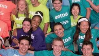 "Click to play video: Aetna's ""Chairman's Challenge"" Summer Intern Volunteer Activity - 2015"