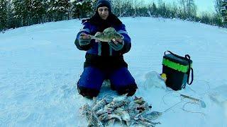 Зимняя рыбалка на ухтома