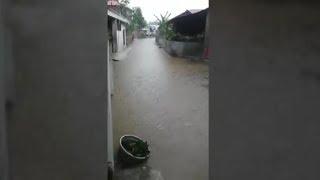 Hujan Deras Rendam Perumahan di Manado, Begini Kondisi Blok W 17 CBA Gold