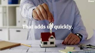 I will create real estate promo videos for Facebook, Instagram