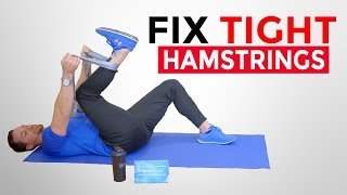 IMPROVE TIGHT HAMSTRINGS | Exercises For MS
