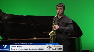 Doron Hazan plays Étude 12 – Douze Études Caprices by Eugène BOZZA