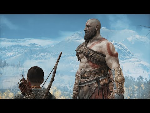God of War 4 (2018) - Full Movie (ALL CUTSCENES w/ SUBTITLES) + SECRET ENDING [1080p HD]
