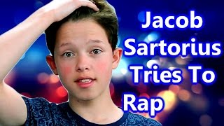 Jacob Sartorius Tries to Rap For The First Time!