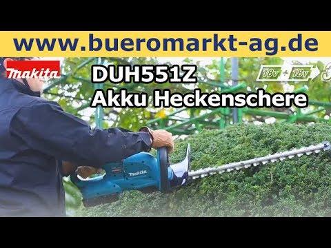 Makita DUH551Z Akku Heckenschere