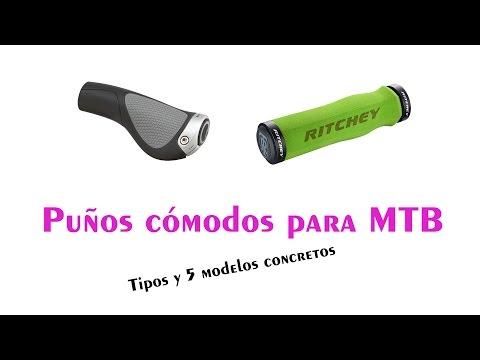 Puños cómodos para MTB | Tipos y 5 ejemplos