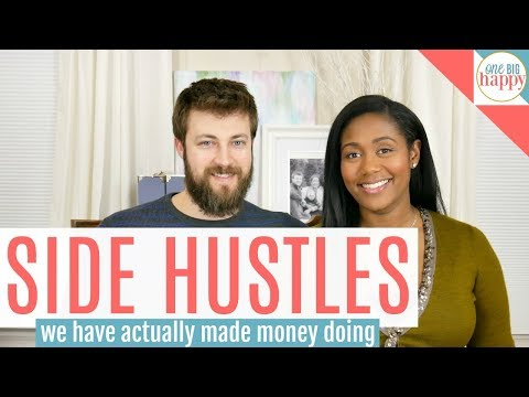 How to Make Money – 16 Side Hustle Ideas We've Actually Made Money Doing