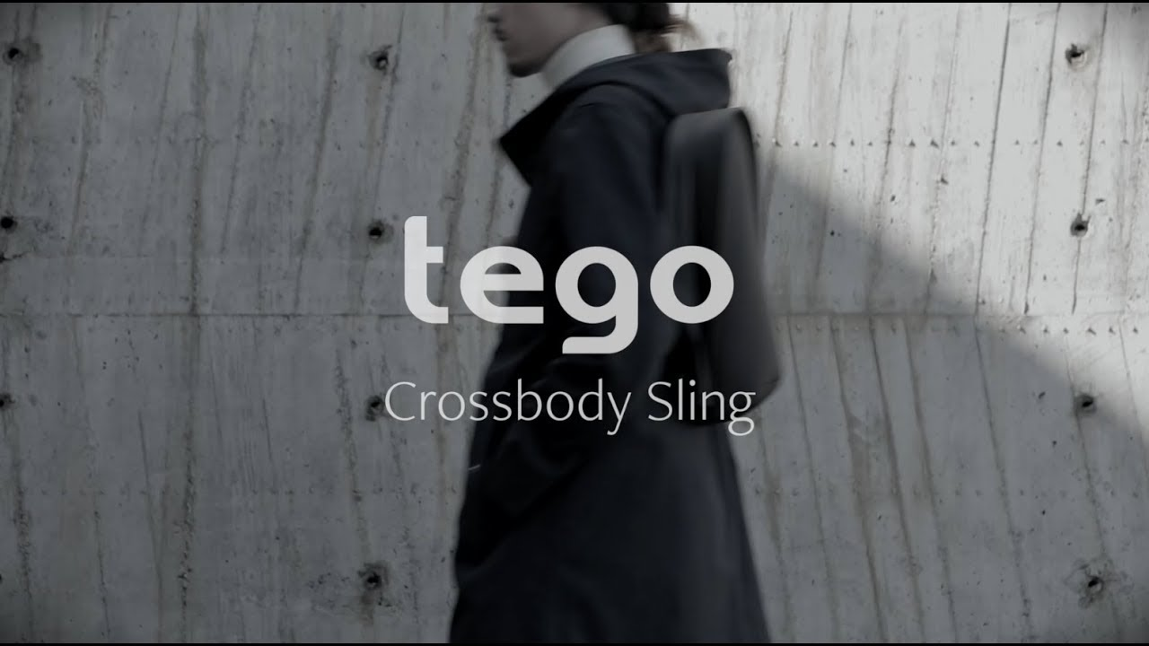 Сумка Moshi Tego Crossbody Sling Stone (Gray) 99MO110262 video preview