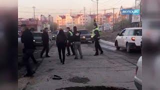 Следственный комитет проводит проверку по факту нападения на сотрудников полиции в Якутске