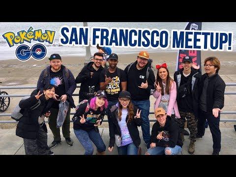 RAIDS/TRADES & BESTIES @ San Francisco Pokémon GO YouTuber Meetup!
