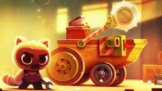 СОЗДАЁМ БОЕВУЮ МАШИНУ Игровой мульт для детей Мультик  CATS: Crash Arena Turbo Stars
