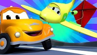 Xe tải kéo Tom - Mùa hè đặc biệt - Cách thả diều - Thành phố xe 🚗 những bộ phim hoạt hình về xe tải