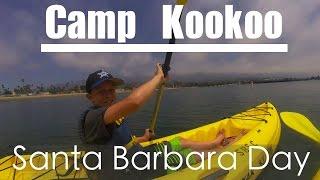 Santa Barbara - Kayak and the world's BEST ice cream!