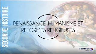 SECONDE Humanisme, Renaissance Et Réformes Religieuses
