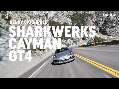 Driving Sharkwerks' Porsche Cayman GT4