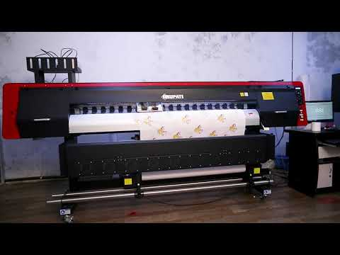 Color Warp Sublimation Digital Printing Machine