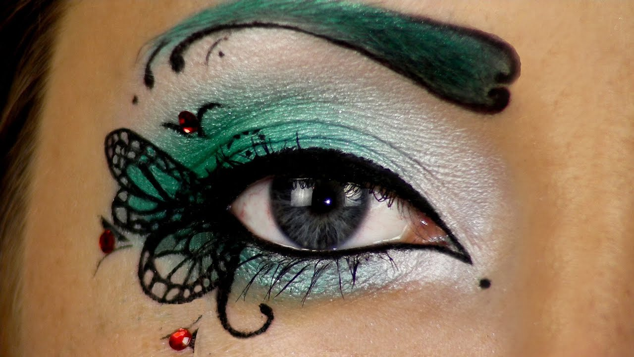 BEAUTIFUL FAIRY ♥ Make-up FANTASIA per diventare una FATA FARFALLA