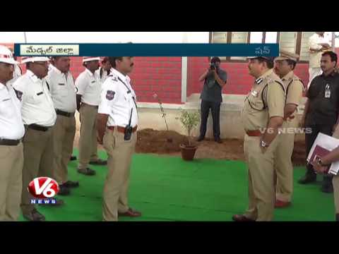 CP Mahesh Bhagwat Inaugurates New Police Station In Rachakonda | Hyderabad | V6 News