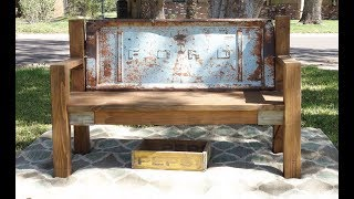 Building A Tailgate Bench