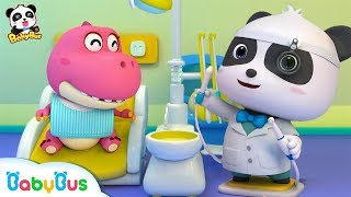 Baby Panda Dental Care | Doctor Song | Good Habit Song | Baby Song | Nursery Rhymes | BabyBus