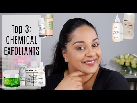 Top 3: CHEMICAL EXFOLIANTS | Beck Wynta