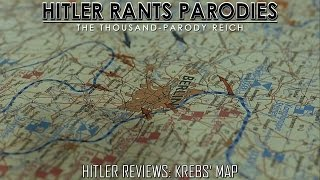 Hitler Reviews: Krebs' Map