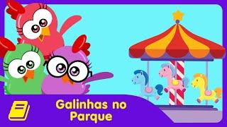 Galinha Pintadinha Mini - Historinha - Galinhas no Parque