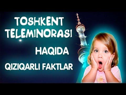 Toshkent Teleminorasi haqida qiziqarli faktlar