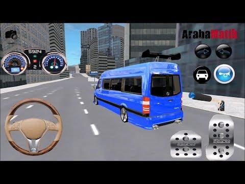 Direksiyonlu Minibüs Şoförü Oyunu // Direksiyonlu Araba oyunları #2