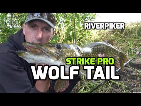 Обзор джеркбейта Strike Pro Wolf Tail от канала River Pike