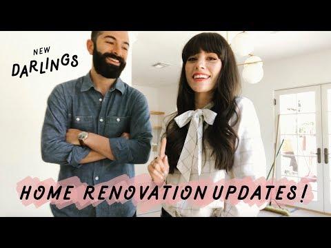New Darlings - VLOG HOME RENOVATION UPDATES
