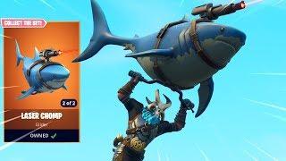 Fortnite Planetary Probe Glider Gameplay New Fortnite Reef Ranger Skin Laser Chomp Glider Gameplay Chaos Free Online Games