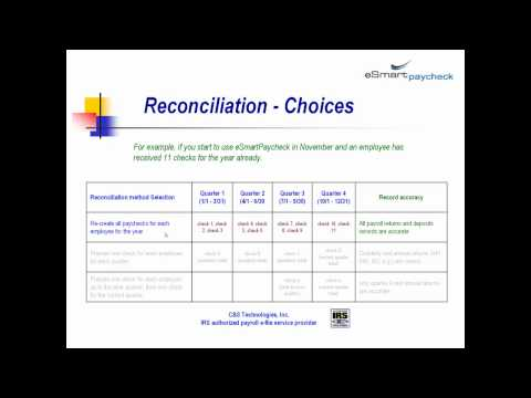 prior payroll reconciliation