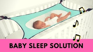 Baby Safety Sleep Hammock For Crib