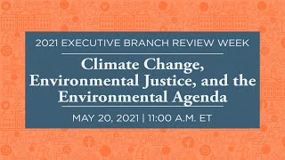 Click to play: Climate Change, Environmental Justice, and the Environmental Agenda