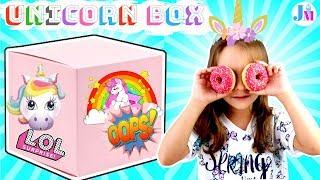 ПОСЫЛКА #единорога и много сюрпризов /Unicorn haul #unicorn mystery box #для детей