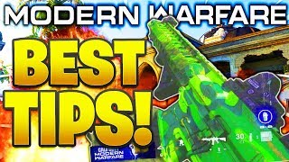 HOW TO GET BETTER AT MODERN WARFARE TIPS AND TRICKS! HOW TO IMPROVE AT MODERN WARFARE MULTIPLAYER!