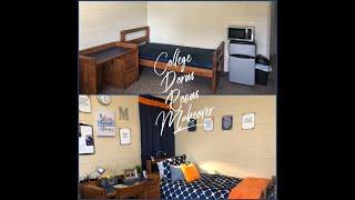 How To Decorate A Boys Dorm Room |Garrett College Dorm Move In 2018